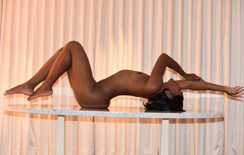 artistic nude pinup photo by photographer kris