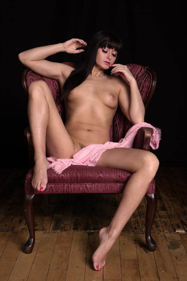 artistic nude pinup photo by photographer robert l person