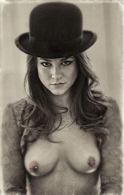 artistic nude portrait photo by photographer stevelease