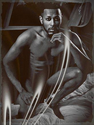 artistic nude self portrait photo by artist z hr