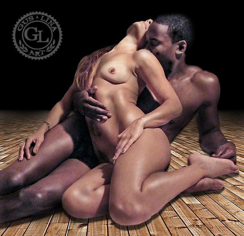 artistic nude sensual artwork by artist guslina art