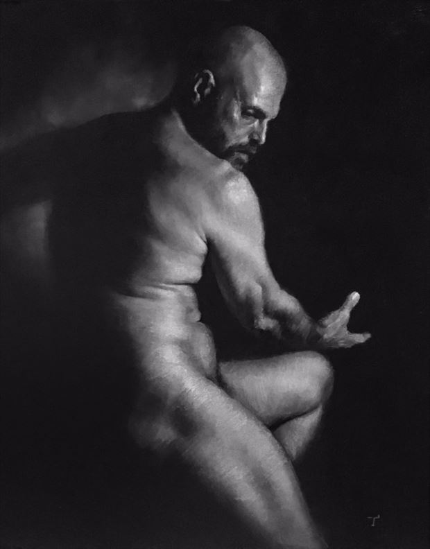 artistic nude sensual artwork by artist tai lin