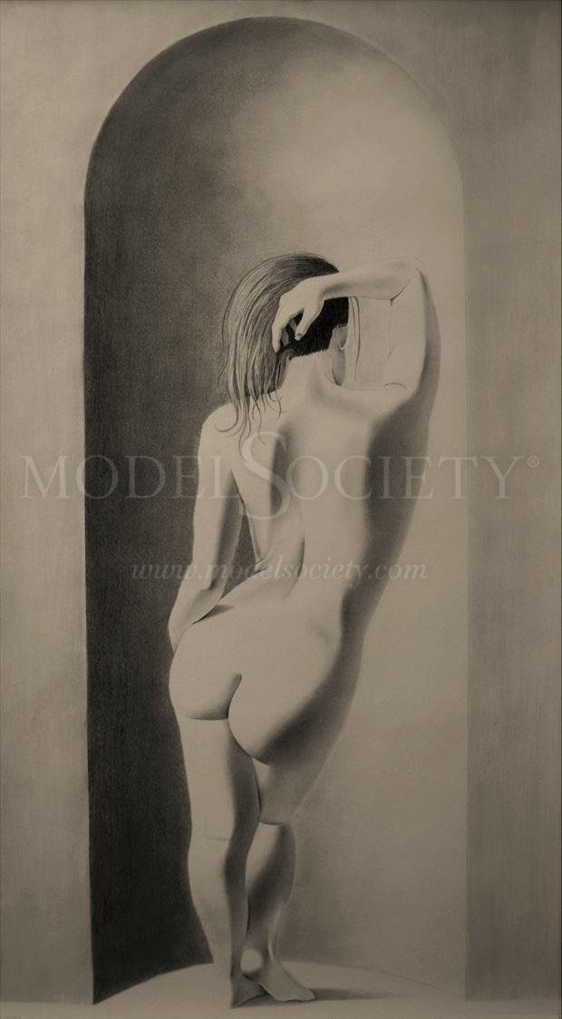 artistic nude sensual artwork by artist the artist s eyes