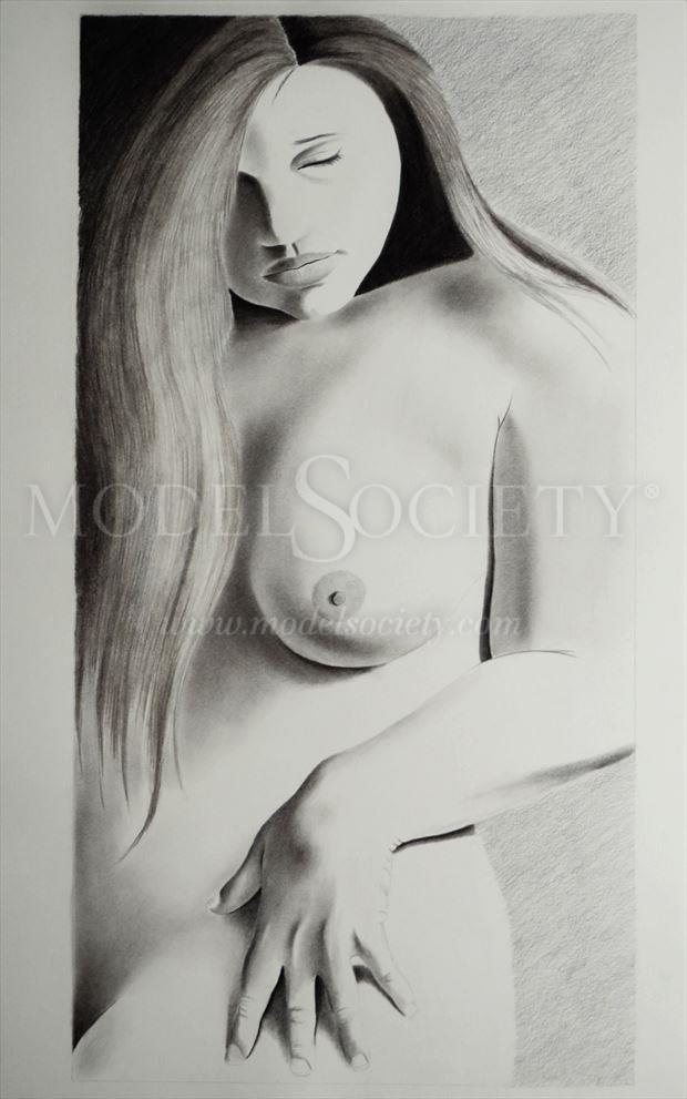 artistic nude sensual artwork by artist the artist s eyes