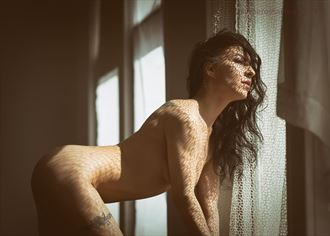 artistic nude sensual artwork by model xxblackswannxx