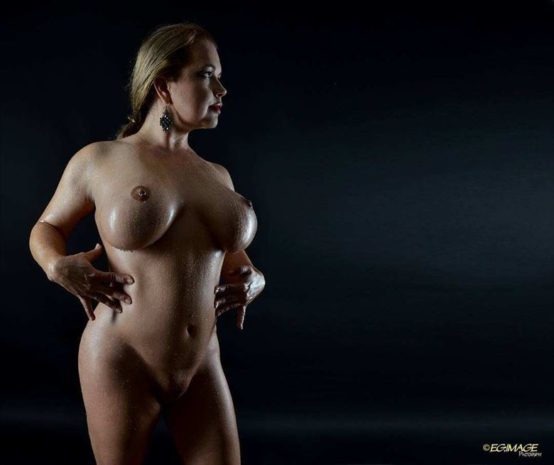 artistic nude sensual photo by model angela mathis