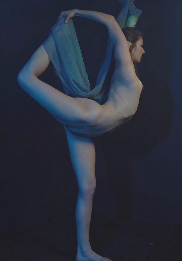 artistic nude sensual photo by model daniella sama