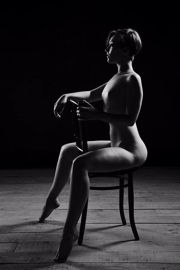 artistic nude sensual photo by model j k model