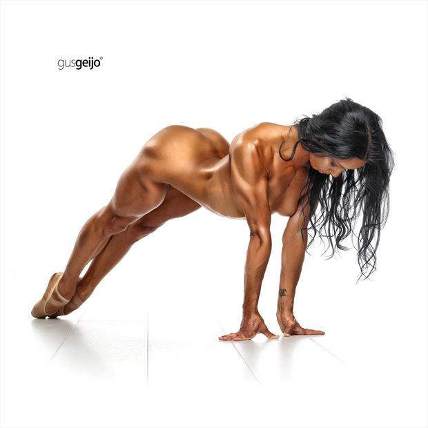 artistic nude sensual photo by model laetitia model