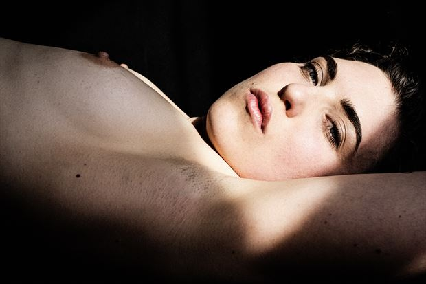 artistic nude sensual photo by model megg bel