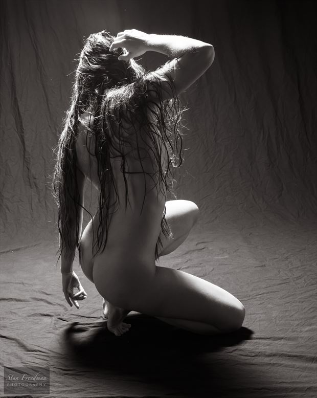 artistic nude sensual photo by model redpanda