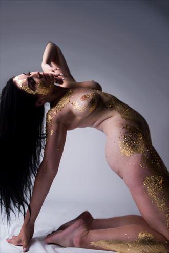 artistic nude sensual photo by model sara tiara