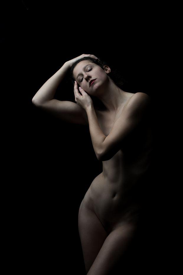 artistic nude sensual photo by model vivian cove