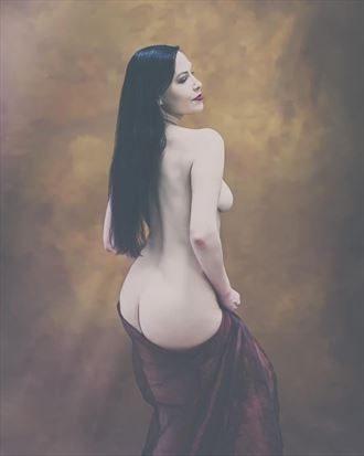 artistic nude sensual photo by model vox model