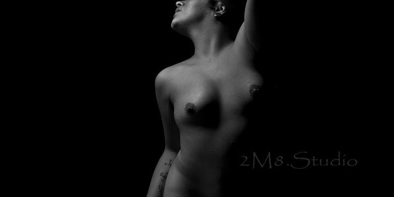 artistic nude sensual photo by photographer 2m8 studio