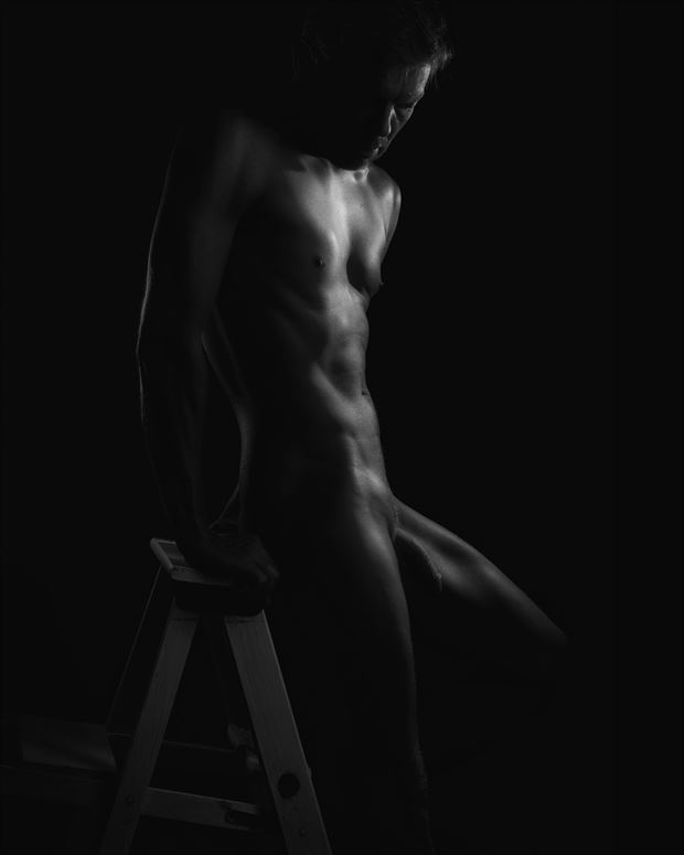artistic nude sensual photo by photographer rdp