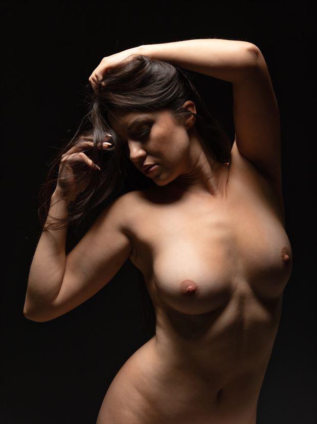 artistic nude sensual photo by photographer robert davis