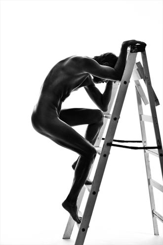artistic nude silhouette photo by photographer r pedersen