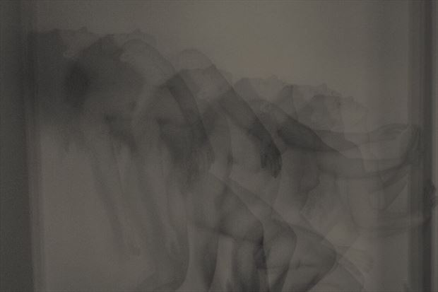 artistic nude soft focus photo by model madeline reynolds