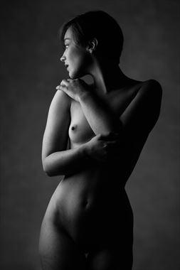 artistic nude studio lighting artwork by model j k model