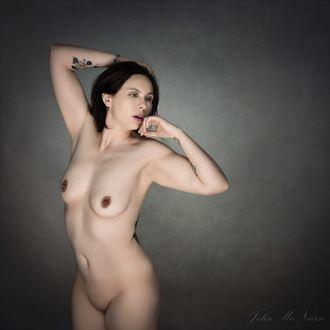 artistic nude studio lighting artwork by model kai