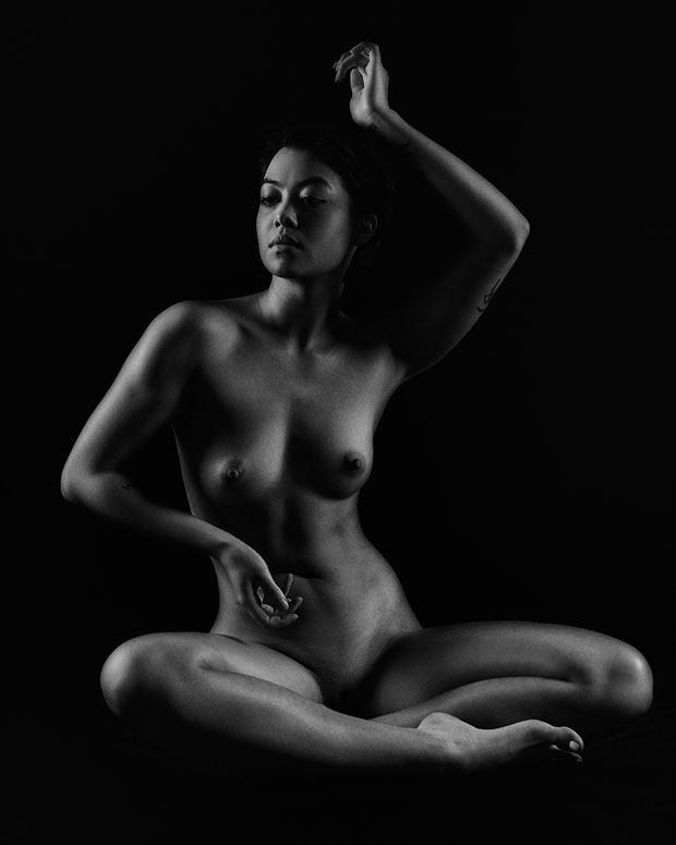 artistic nude studio lighting artwork by model thedarkmotherkali