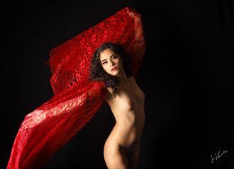 artistic nude studio lighting artwork by photographer jon lecoultre