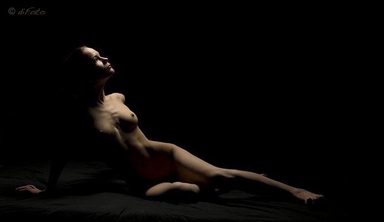 artistic nude studio lighting artwork by photographer marcdifoto