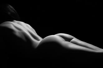 artistic nude studio lighting artwork by photographer mike fox