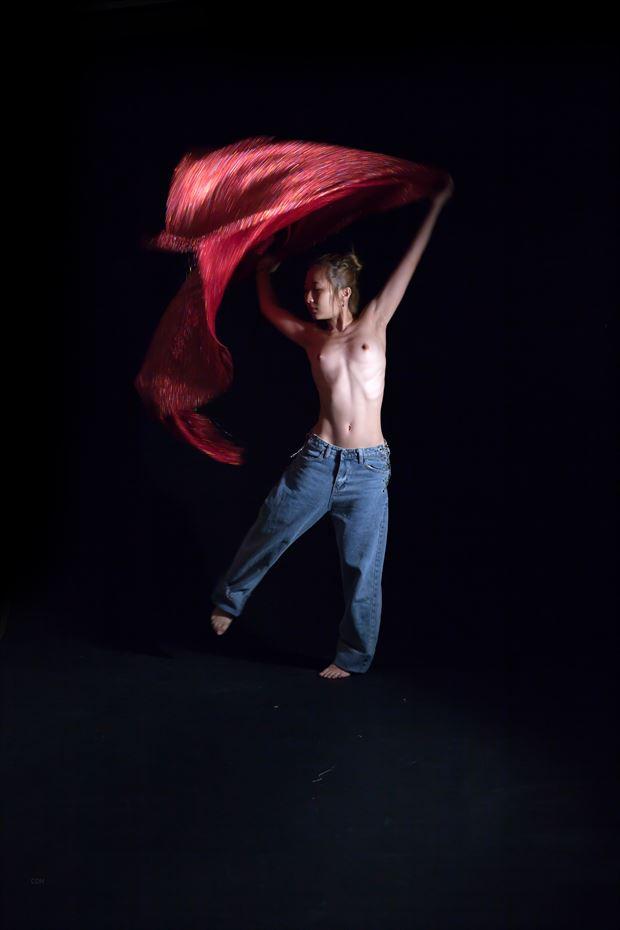 artistic nude studio lighting artwork by photographer yoga chang