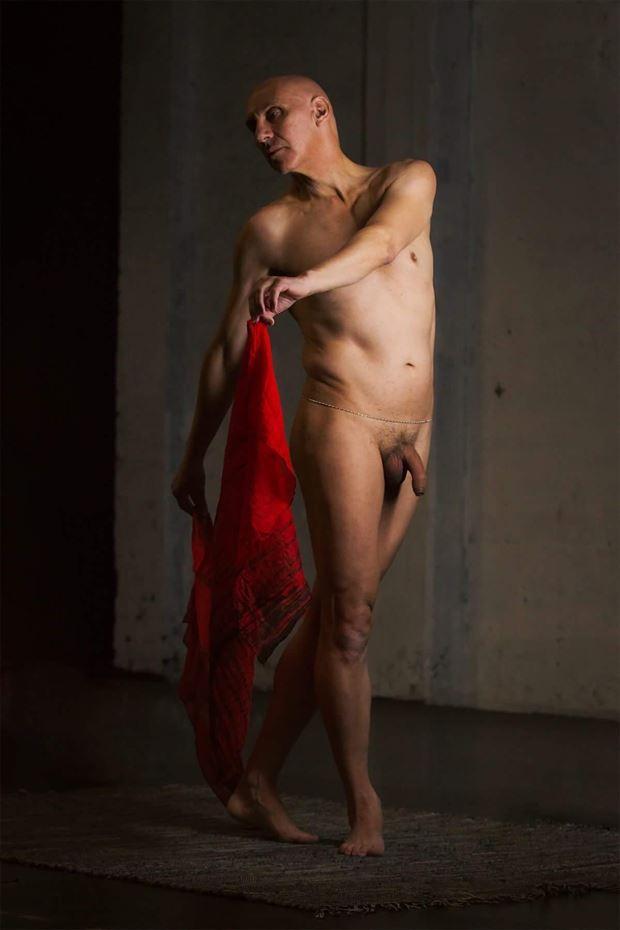 artistic nude studio lighting photo by model artmodel richard