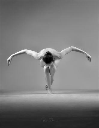 artistic nude studio lighting photo by model beth mg