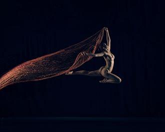 artistic nude studio lighting photo by model bou