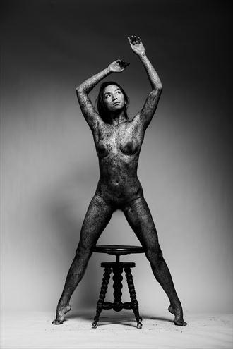 artistic nude studio lighting photo by model elysianrose