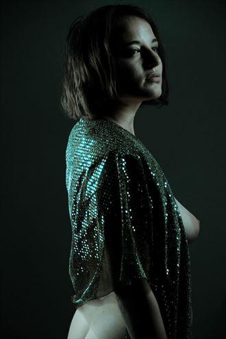 artistic nude studio lighting photo by model fallenecho