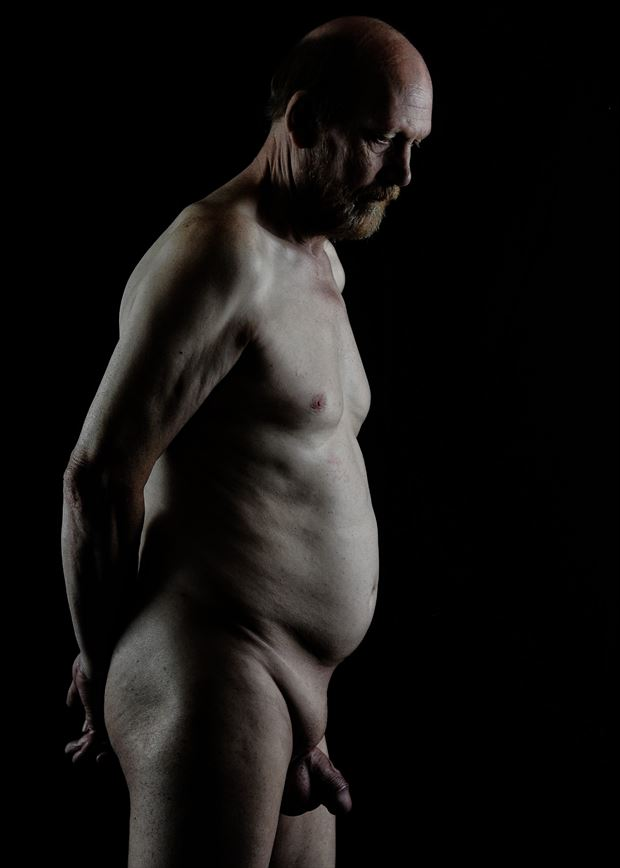 artistic nude studio lighting photo by model gerardm