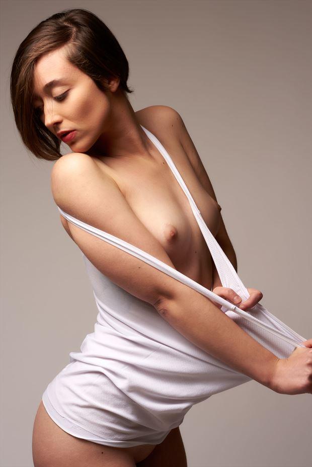 artistic nude studio lighting photo by model j k model