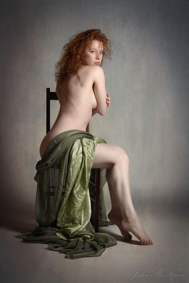 artistic nude studio lighting photo by model loreley