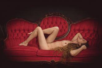 artistic nude studio lighting photo by model suneadura