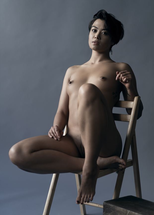 artistic nude studio lighting photo by model thedarkmotherkali