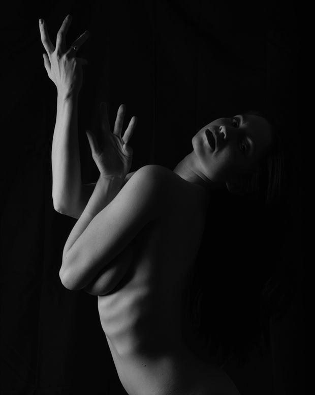 artistic nude studio lighting photo by photographer a r alexander