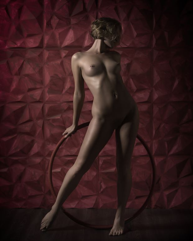 artistic nude studio lighting photo by photographer aj kahn