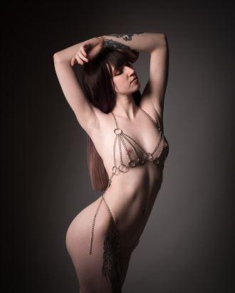 artistic nude studio lighting photo by photographer colin winstanley