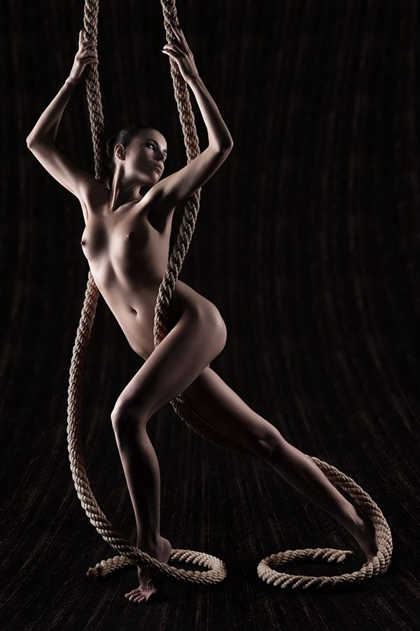 artistic nude studio lighting photo by photographer dee light