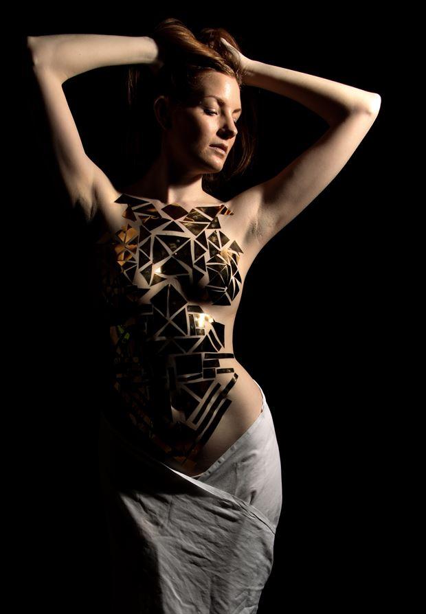 artistic nude studio lighting photo by photographer djlphotography