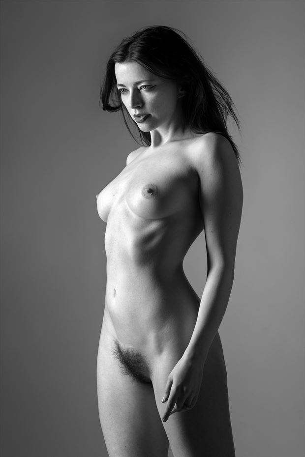 artistic nude studio lighting photo by photographer ellis