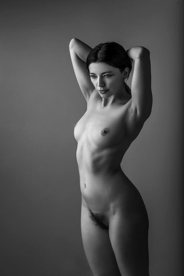 artistic nude studio lighting photo by photographer ellis
