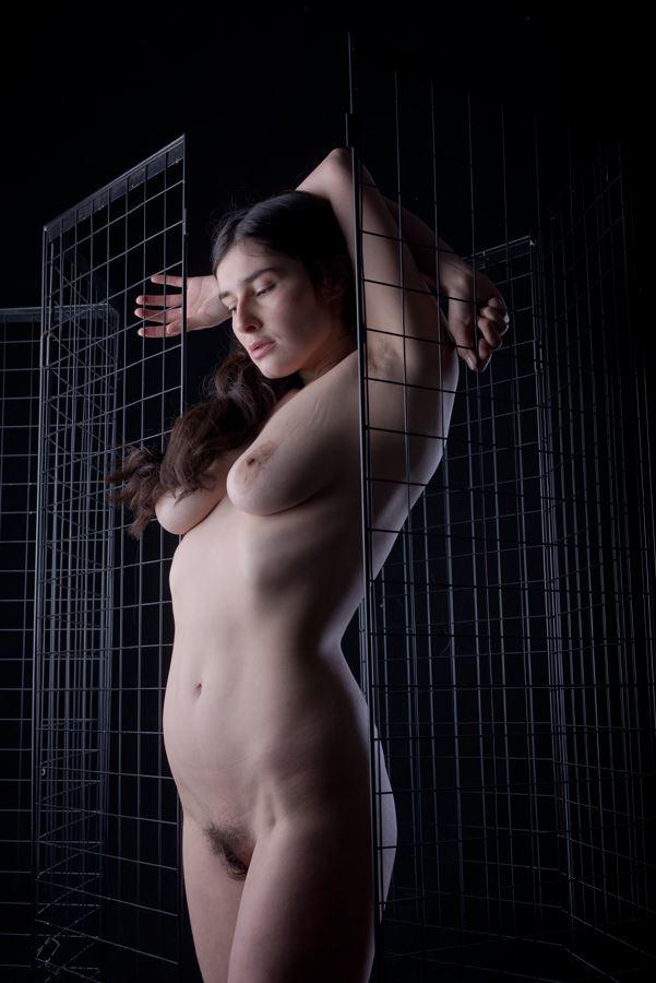 artistic nude studio lighting photo by photographer eric frazer