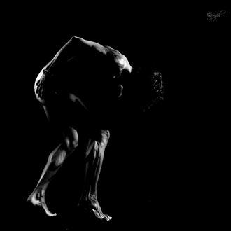 artistic nude studio lighting photo by photographer filiberto mariani
