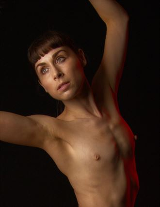 artistic nude studio lighting photo by photographer fopimages